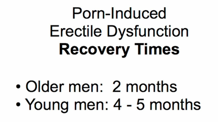 porn induced ed recovery
